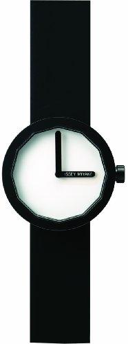 Issey Miyake Ladies Twelve Watch IM-SILAP005 With Black Leather Strap