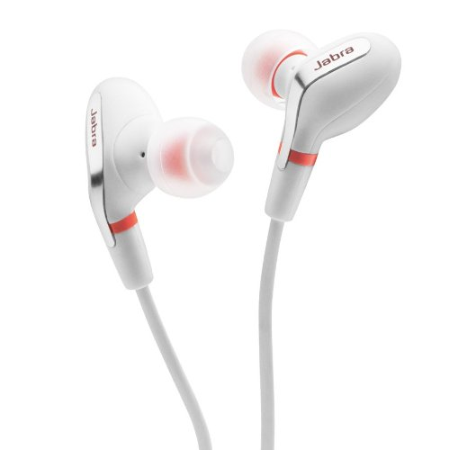 Jabra Corded Stereo Headphones - Retail Packaging - White