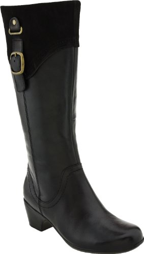 Clarks Women's Ingalls Delaware Boot,Black,8.5 M US