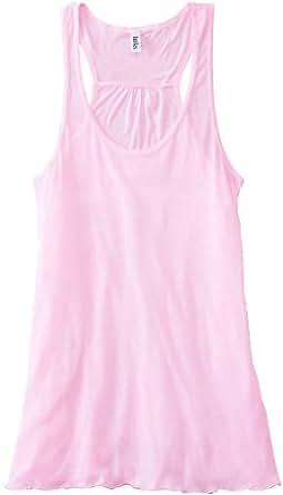 Bella 8800 Ladies 3.7 oz. Flowy Racerback Tank, Soft Pink, X-Small