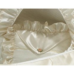 Bassinet Liner Skirt And Hood front-207503
