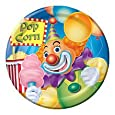 ShindigZ Big Top Circus Birthday 7 inch Dessert Plates - 8-Pack