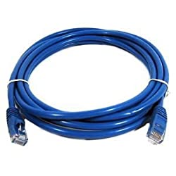 SuperShopperIndia 15 Meter Ethernet Lan Cable CAT5E Lan Cable HIGHSPEED UTP Patch Cord - Blue