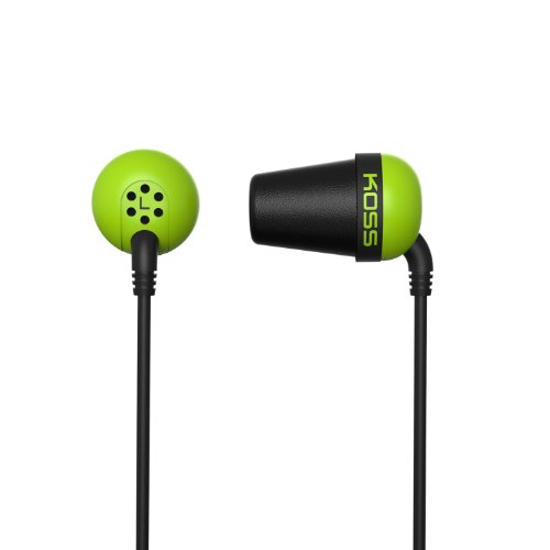 Koss The Plug The Plug In-Ear Headphones, Green