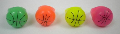 LED Basketball Ring Assorted colors (6PC)
