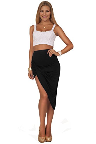 Fitted Maxi Skirt front-1050287