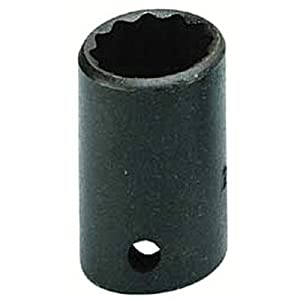 Armstrong 20-124 1/2-Inch Drive 12 Point Standard 3/4-Inch Socket, Black Oxide