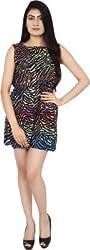 Zachi Women's A-Line Dress (105302_Black_X-Large)
