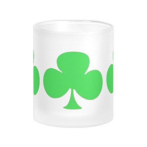 Tea Green Clovers Mugs