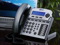 New Xblue Networks Speakerphone Titanium Lcd Display Voicemail Headset Jack Wall Mountable Phonebook