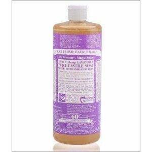 Dr. Bronner's Organic Lavender Castile Soap (1x16 OZ)