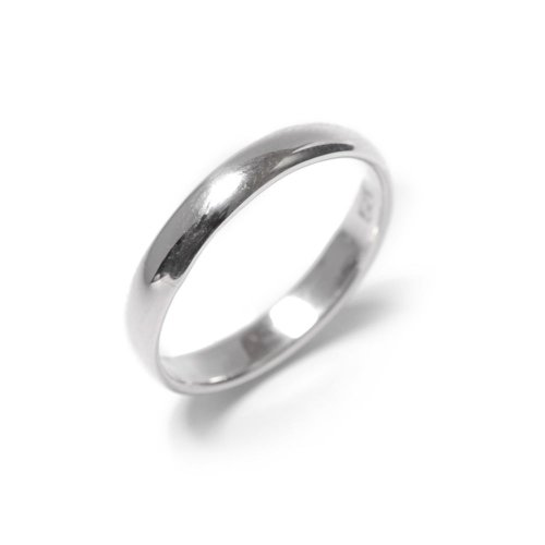 New genuine sterling silver plain 925 ring size band 3 mm engagement by 81stgeneration