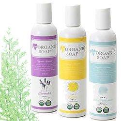 アイラブオーガニックソープ 3本組 オーガニック洗顔、オーガニックボディソープもオーガニック石鹸これ1本 I LOVE ORGANIC SOAP