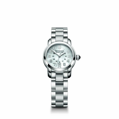 Victorinox Swiss Army Women's 241055 Vivante White Mother-Of-Pearl Dial Watch