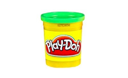 Playdoh Single Can Assortment - Bright Green - 1