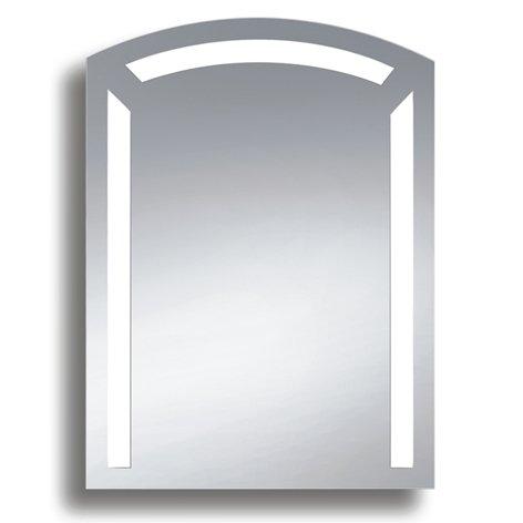 Badspiegel BELEUCHTET Wandspiegel BELEUCHTUNG Spiegel LICHT Badwandspiegel aus Kristall YJ-537