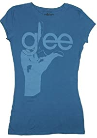 ガールズ◆アメリカ映画glee/グリー TシャツFinger Logo glee/グリー 踊る♪合唱部!?Music Is My Life