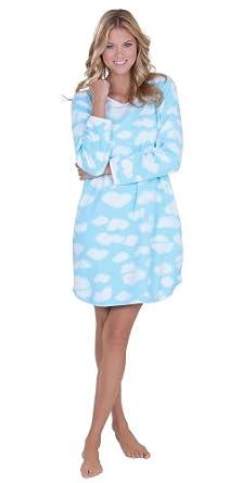 Comfy Clouds Fleece Sleepshirt SML (4-6)
