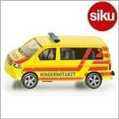 <ボーネルンド> Siku(ジク)社 輸入ミニカー 1462 フォルクスワーゲン シャラン 小児救急車