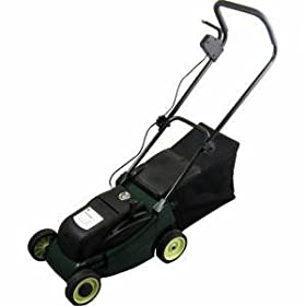 NEW TRUESHOPPING GARDEN BATTERY POWERED ELECTRIC CORDLESS LAWNMOWER
