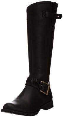 Timberland Women's Savin Hill Tall Boot,Black,5.5 M US