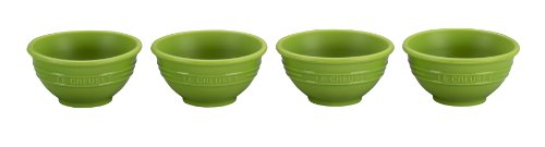 Le Creuset Silicone Pinch Bowl, Palm, Set of 4