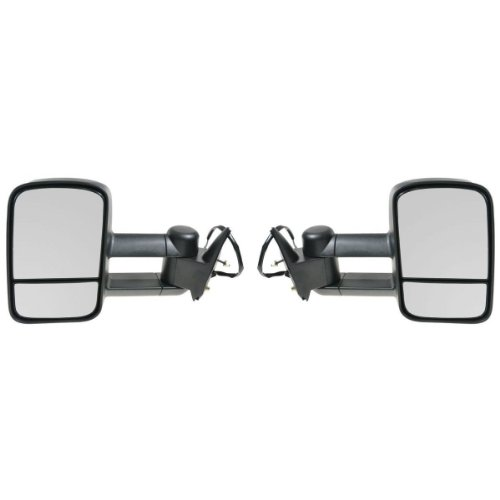 APA Chevrolet Gmc C K 1500 2500 3500 Truck 88 - 98 Tow Power Heated Mirror Pair Set (98 Chevy 1500 Tow Mirrors compare prices)