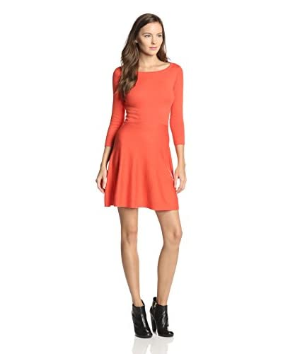 French Connection Women's Sydney Knit Dress  [Favela Red]