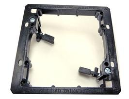 Drywall Electrical Box, Lv2 Low Voltage Double Gang Old-Work Drywall Electrical Box(Mud Ring)
