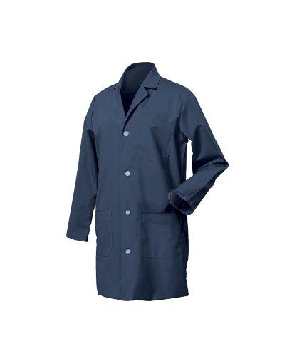 Worklon 431XL Polyester/Cotton Unisex Lab Coat with Button ... - photo #21