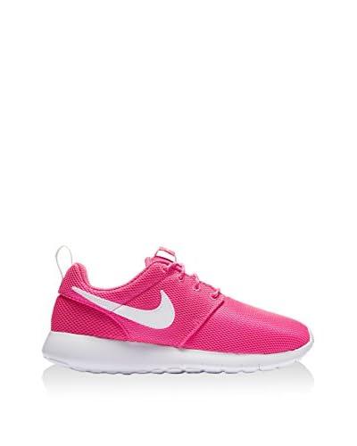 Nike Zapatillas Roshe One (Gs) Fucsia / Blanco