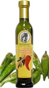 Ariston Roasted Chili Infused Gourmet Olive Oil 250 ml by Ariston Specialties