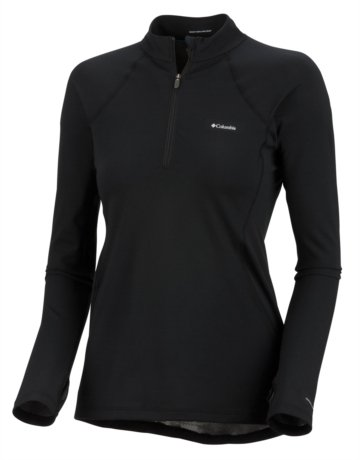 Columbia Women's Baselayer Long Sleeve 1/2 Zip Top