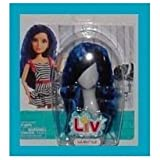 LIV: Doll Wig Accessory - Blue Crimped Hairstyle
