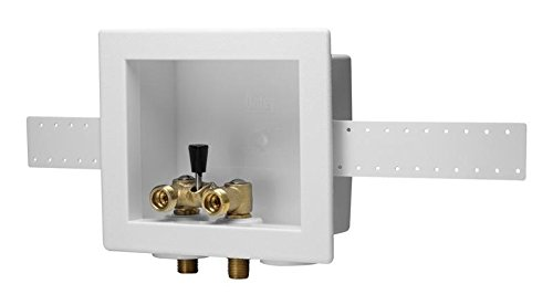 Oatey Washing Machine Outlet Box with Lever Valves