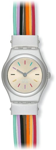 Swatch Filamente Multicolore Ladies Watch YSS1006