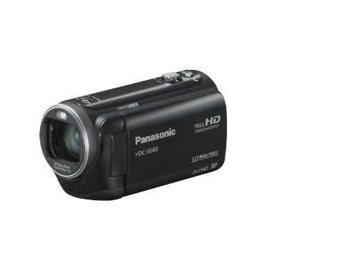 Panasonic HDC-SD80K HD SD Card Camcorder (Black)