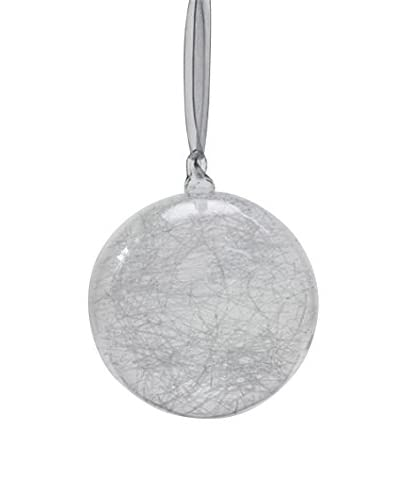Sage & Co. Frosted Ice Web 4 Ball Ornament