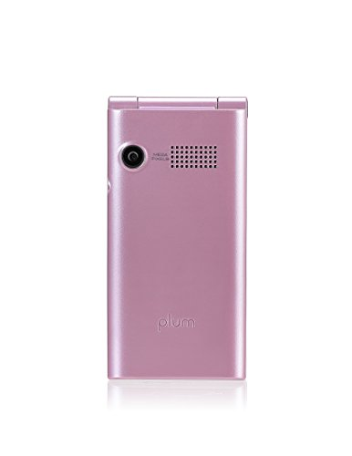 Plum Polka - Unlocked GSM Flip Phone - Cute Girl - Pink