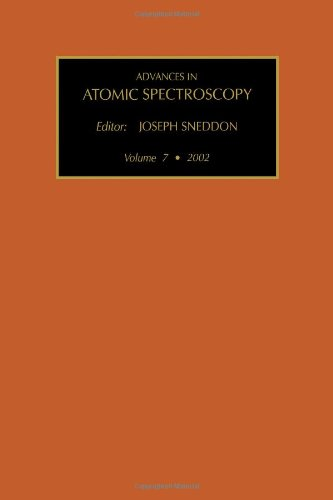 Advances In Atomic Spectroscopy (Vol. 7), Volume 7
