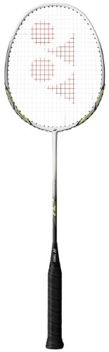 Yonex NR20 Badminton Racket - White/Lime, Adult