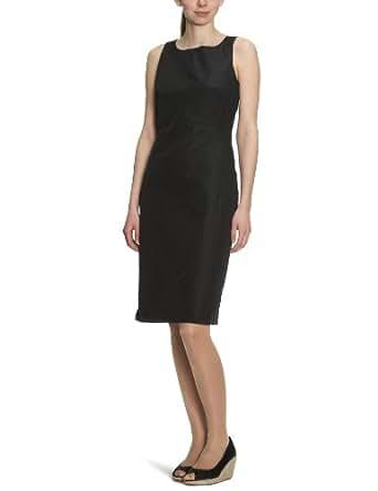 CK Calvin Klein Damen Kleid/ Knielang KWW302 FT900, Gr. 38 (IT 44), Schwarz (999)