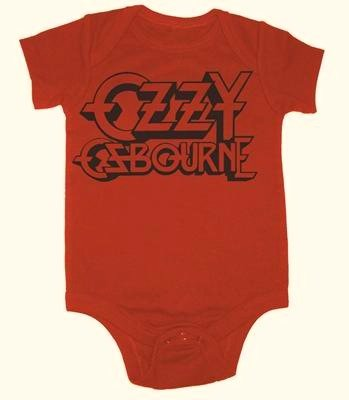 Ozzy Osbourne Baby Shirt (0-3 Months) front-47680