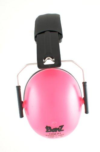 Baby Banz Hearing Protector Earmuffs, Pink