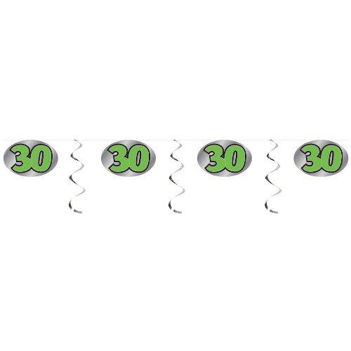 30 Embossed Foil Garland