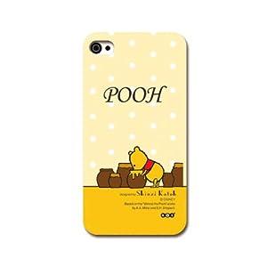 iPhone4S/4ケース Disney/プーさん(黄色)