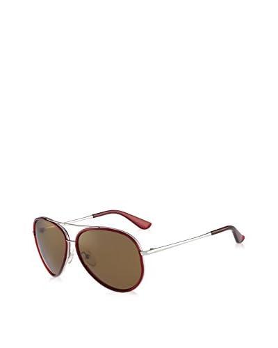 SALVATORE FERRAGAMO Sonnenbrille (58 mm) rot