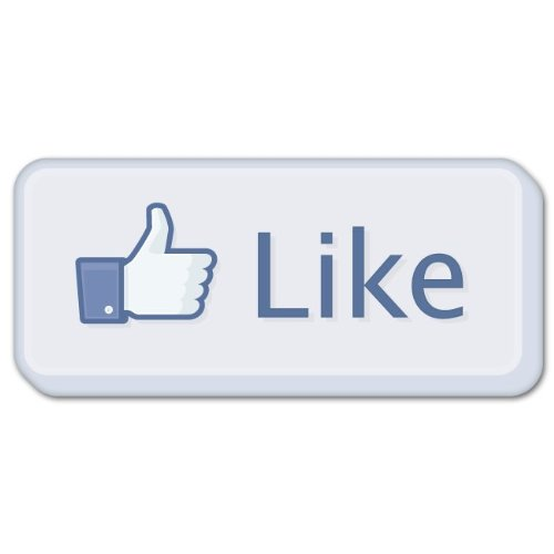 """Amazon.com: Like It thumbs up facebook LARGE vinyl sticker decal 12"""" x"""