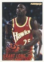 Grant Long Atlanta Hawks 1994 Fleer Autographed Hand Signed Trading Card. by Hall+of+Fame+Memorabilia