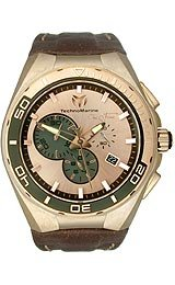 TechnoMarine Cruise Steel Evolution Rose Gold-Tone Dial Men's Watch #112009